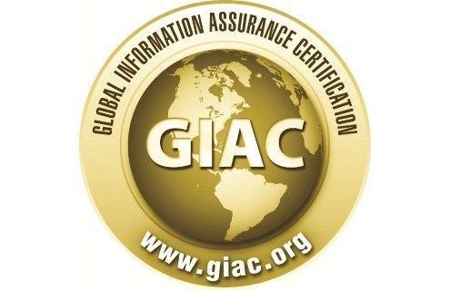 Logotipo de la certificación GIAC
